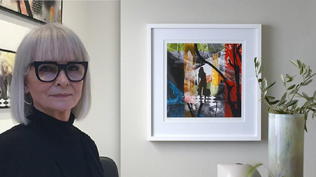 Betty Cristine Fog inspireras av natur och att skapa intressanta kollage.