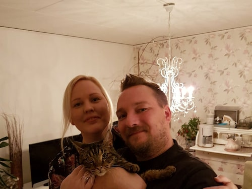 Familjen Segerman-Österlund hoppas på att hitta Misses ägare.