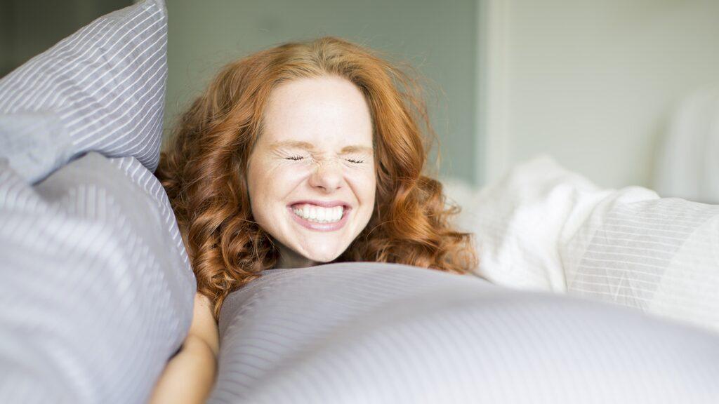...att sova gott om nätterna och att ha en bra sexliv är viktigare.