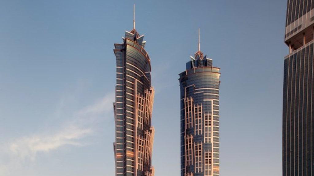 <p>JW Marriott Marquis Hotel i Dubai är 77 våningar högt.<br></p>