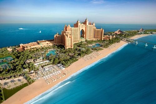 Atlantis The Palm ligger vid Mellanösterns största vattenpark.