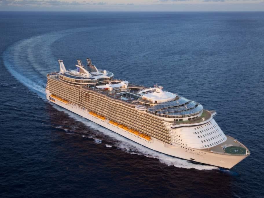 """Bästa fartyg är """"Allure of the Seas""""."""