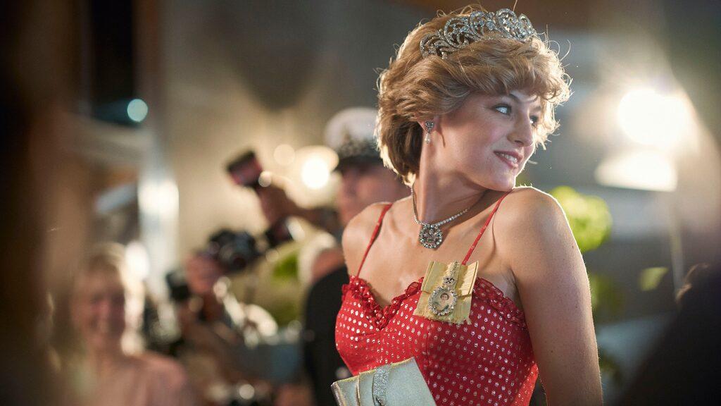 """Prinsesan Diana (Emma Corrin) i nya säsongen av """"The Crown""""."""