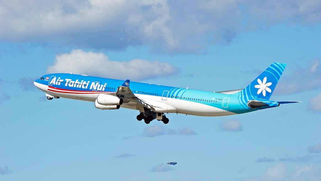 Air Tahiti Nui satte nytt rekord i långflygning.