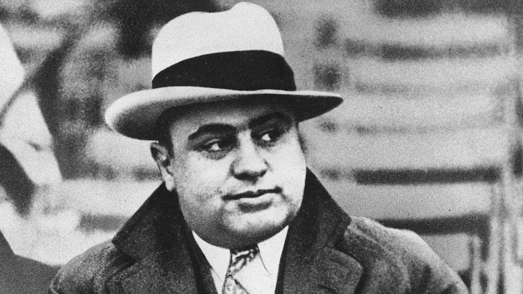 Gangesterbossen Al Capone fick fri mat och logi på Alcatraz.
