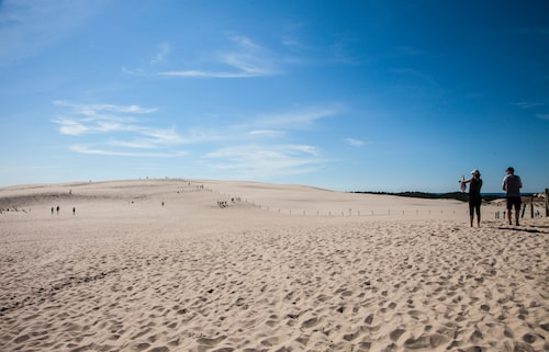 Slowinski nationalpark lär vara Europas största sandöken.