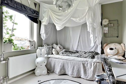 Sonens rum är Gabriellas favoritrum i huset, har hon tidigare skrivit på sin blogg.