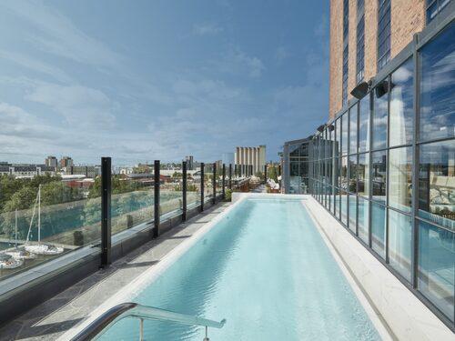 The Steam Hotel i Västerås har ett trendigt spa.