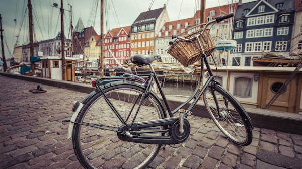 Ta dig till Vesterbro, Nørrebro och Christianshavn på cykel.