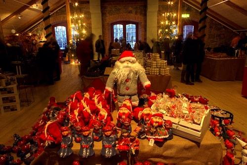 Tomtefrossa på Steninge julmarknad.