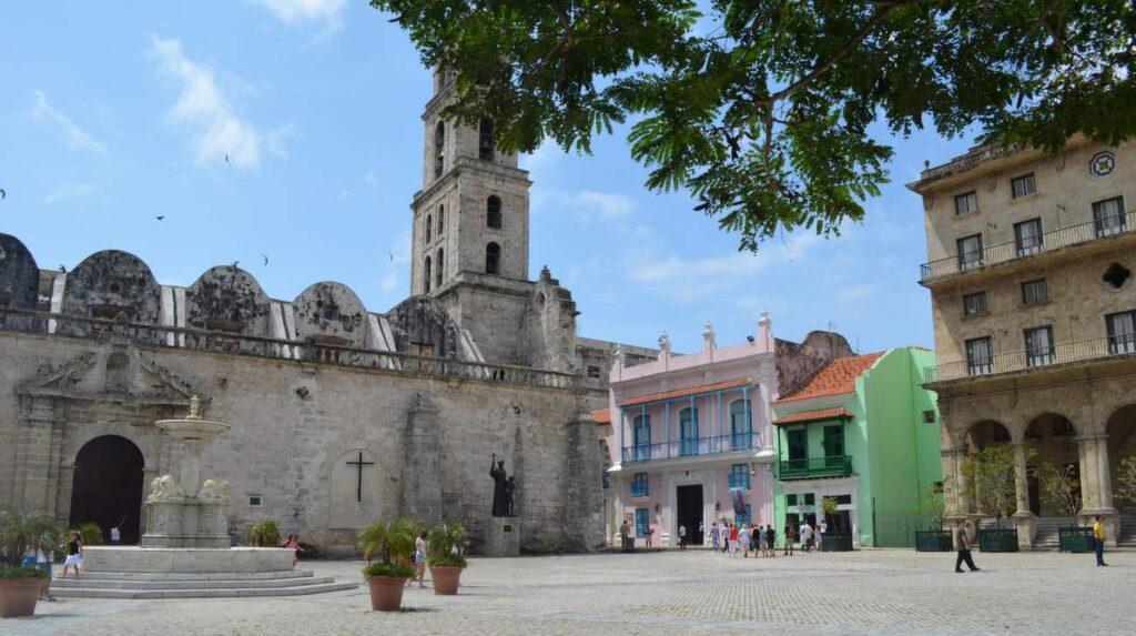 Gamla stan är med på Unescos världsarvslista.