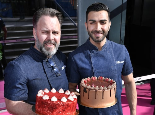 Amerikanska bakverk möter svenskt fika på Mr Cake.