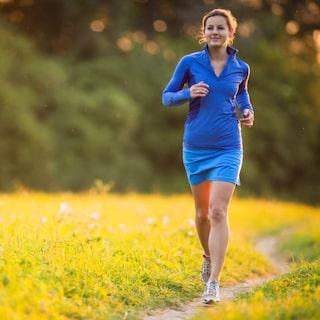 går upp i vikt av löpning