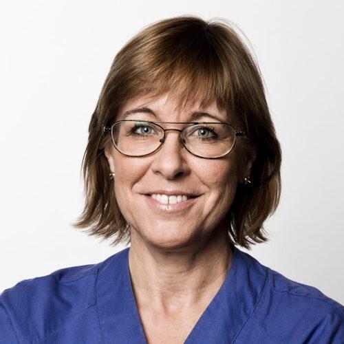 """""""Det är inte så att gränsen är nådd. Nu är det helt över gränsen"""", säger Karin Båtelson, ordförande för Sjukhusläkarna."""