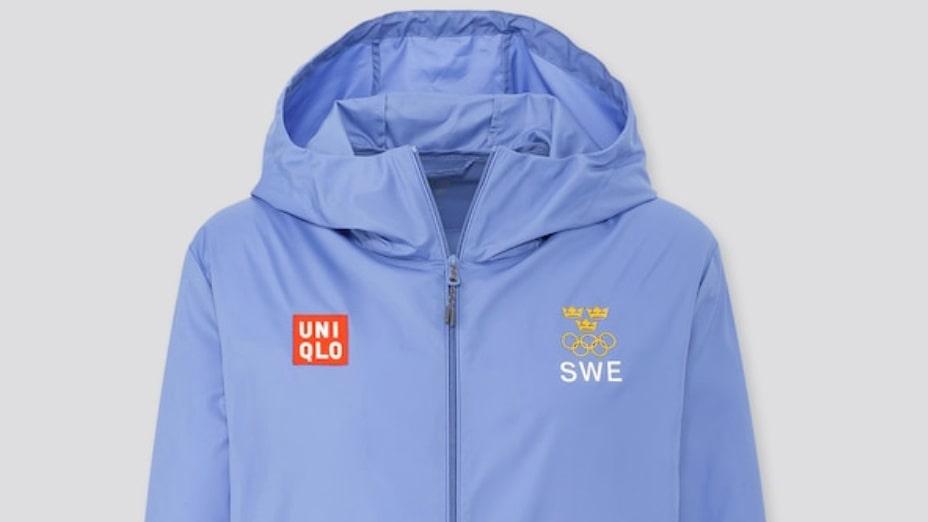 Uniqlo, Sweden olympic pocketable uv protection parka