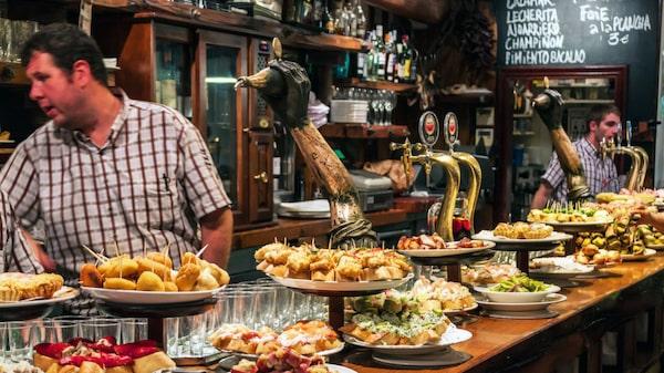 San Sebastián har många Michelinrestauranger.