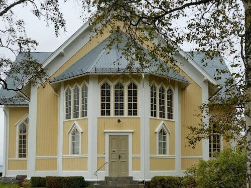 Gåxsjö kyrka är byggd 1886.
