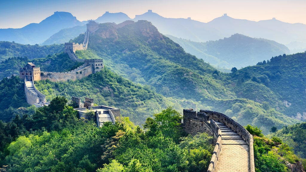Kinesiska muren.