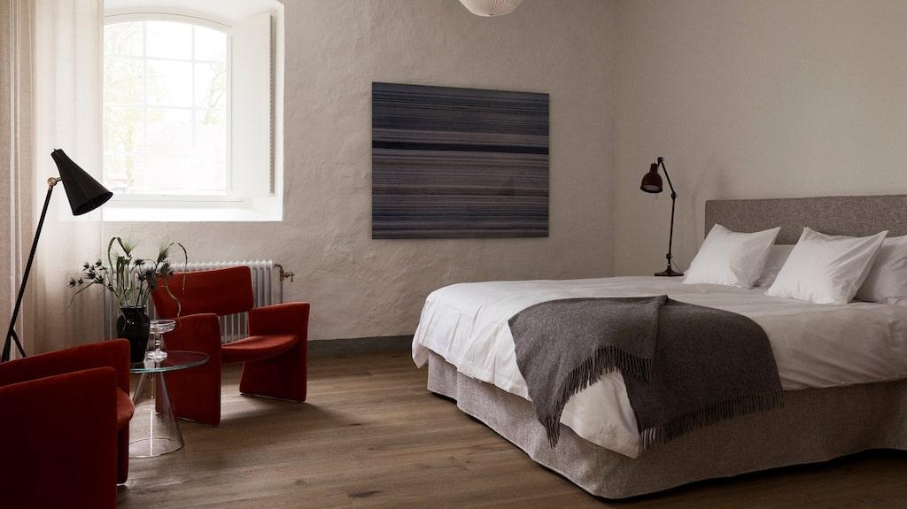 Det svenska hotellet har 11 sovrum.