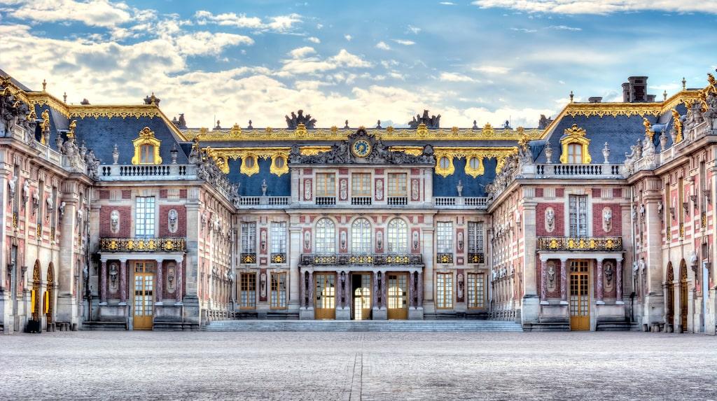 Slottet i Versaille, palatsens palats.