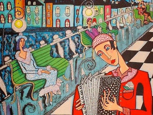 """""""Pont Neuf"""" är en härlig gatuvy från Paris."""