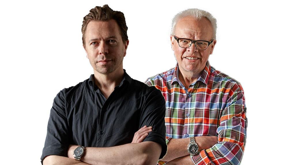 Andreas Grube och Håkan Larsson.