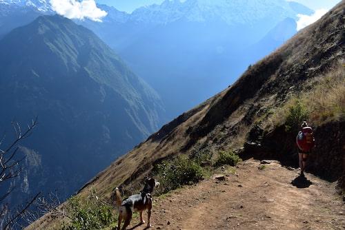 Brant nedstigning till Apurímacdalen.