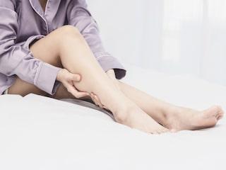 krypningar i benen efter träning