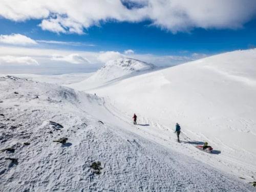 Lofsdalen har över 12 mil välpreparerade längdspår.