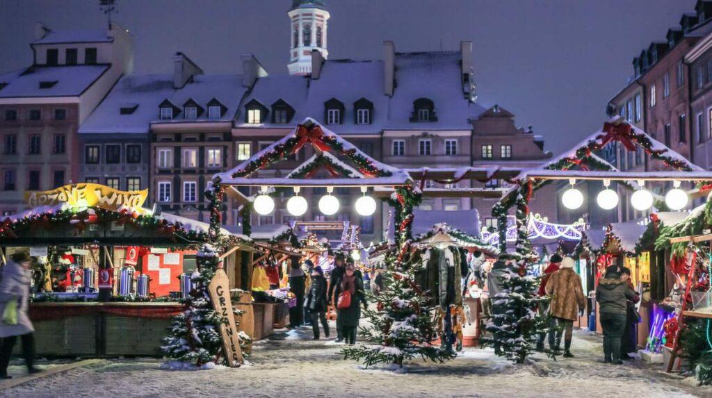 Julmarknad, Warszawa.