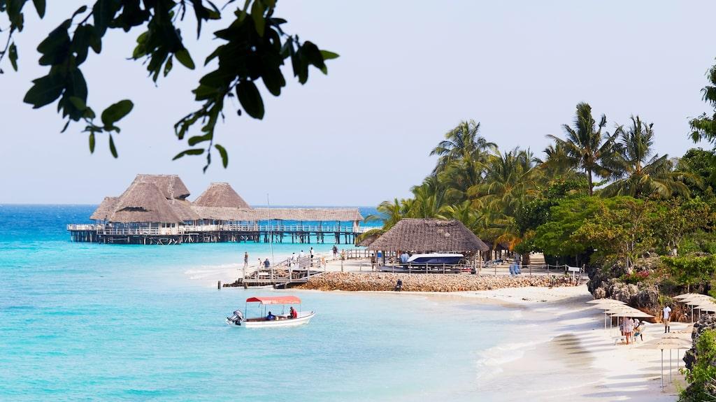 Paradisiska Zanzibar har många boenden med strandläge.
