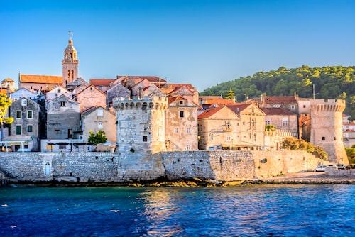 """Att Korcula kallas """"Mini-Dubrovnik"""", är inte svårt att förstå."""