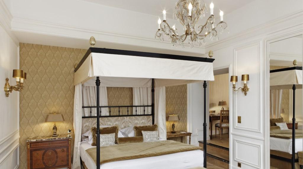 Hôtel Relais Christine – tjusigt litet palats i studentkvarteren.