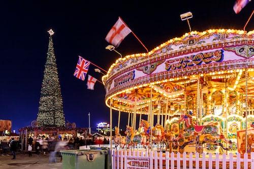 Hyde Park i London förvandlas till ett sprakande nöjesfält i december.