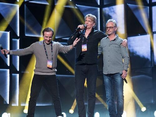 Patrik Isaksson deltog i Melodifestivalen 2016 tillsammans med Tommy Nilsson och Uno Svenningsson.