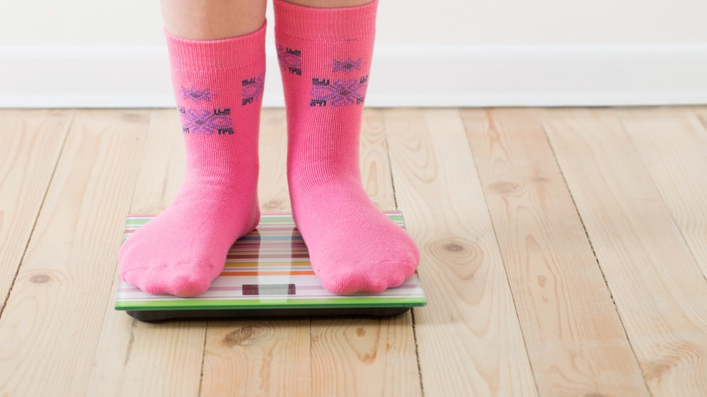 Resultaten visar att barnen som följts upp till åtta års ålder löper en större risk att bli överviktiga i förskole- och skolåldern.