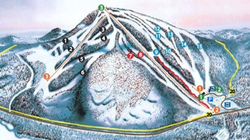 I Svanstein Ski finns 5 skidliftar, 16 nedfarter och en fin snowpark. Längsta pist är 2,2 kilometer.