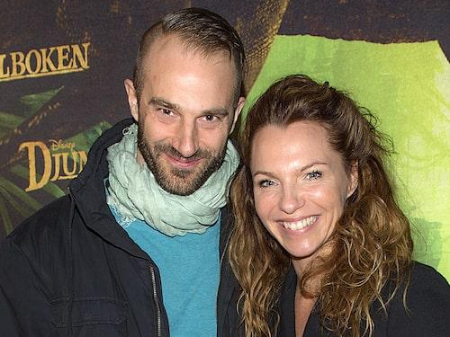 Kärlekslycka. Snart kommer Tobias Nordenstedts och Sofia Ledarps barn.