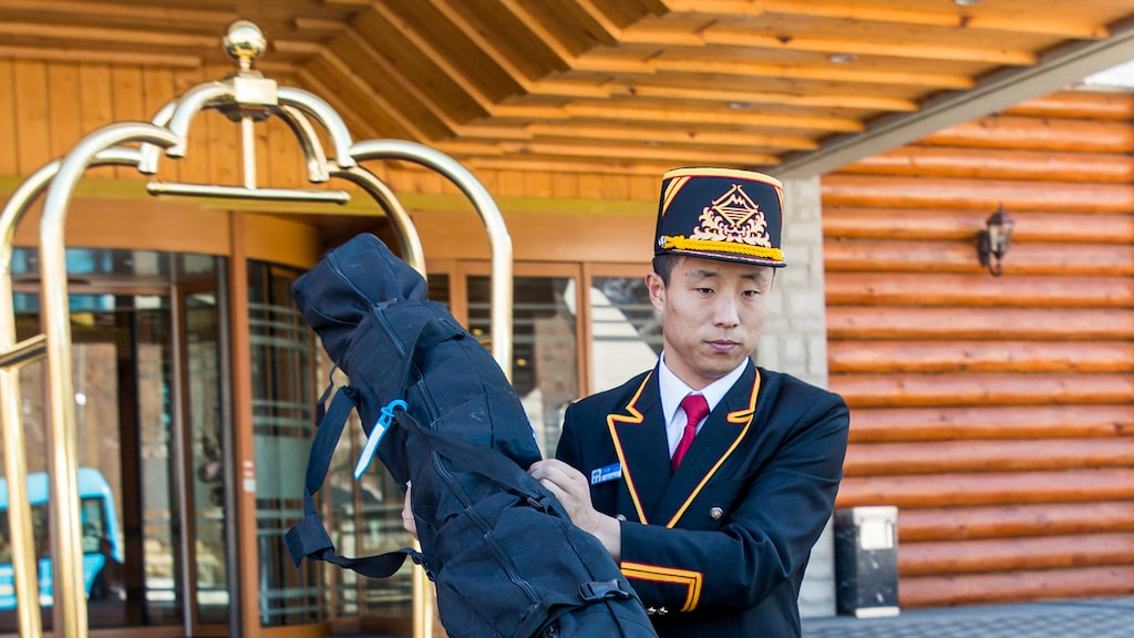 På den nordkoreanska skidorten Masikryong gäller ordning och reda.