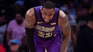 super popular 54f6a 62e6d LeBron James och hans Lakers... Foto  MARK J. TERRILL   AP TT NYHETSBYRÅN .