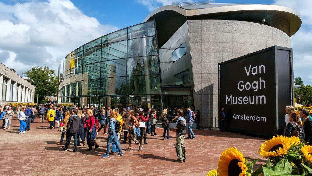 Van Goghmuséet, ett måste om du är på besök i Amsterdam.