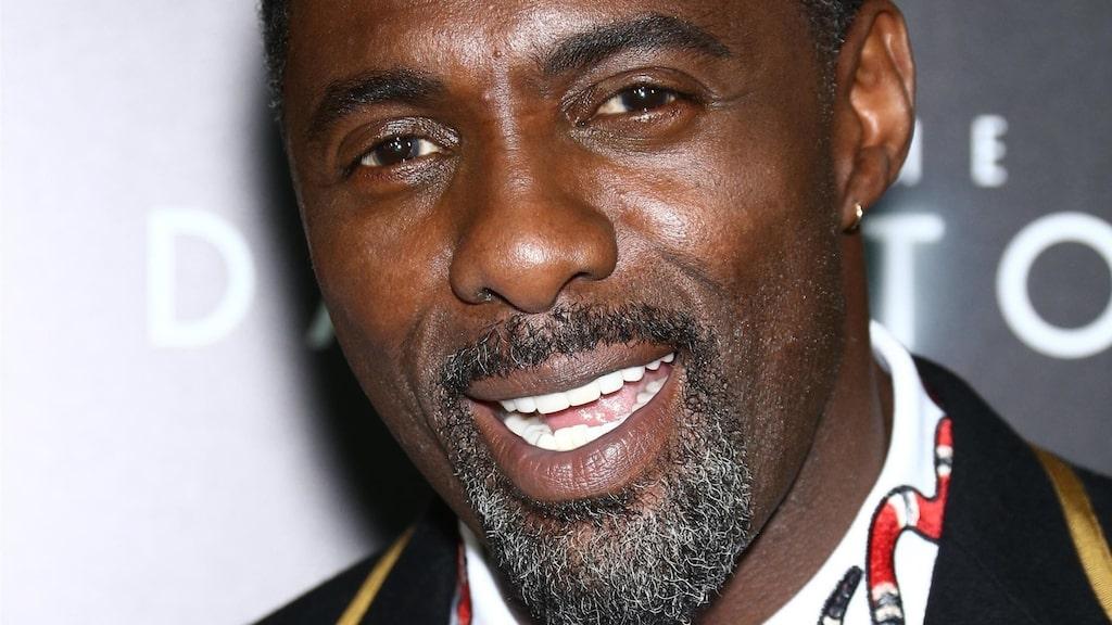 Lika så kollegan Idris Elba.