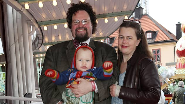 Edward Blom och Gunilla Blom avslöjar namnet på dottern