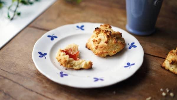scones recept 4 pers