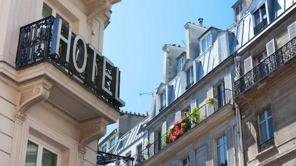 Hotellrum är dyra i Paris