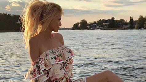 Glamurösa Victoria Silvstedt älskar att återvända till Sverige.