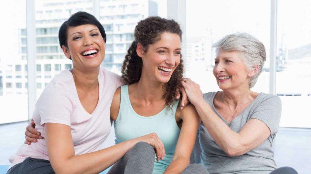 Skratta dig till bättre hälsa! Se punkt 61.