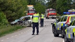 Ung kvinna avliden efter trafikolycka