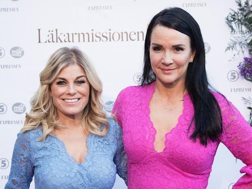 """Sofia Wistam om Pernilla Wahlgren: """"Jag kände inte henne så väl innan vi började podda, nu vet jag att hon är extremt generös, väldigt rolig och det händer mycket i hennes värld"""""""