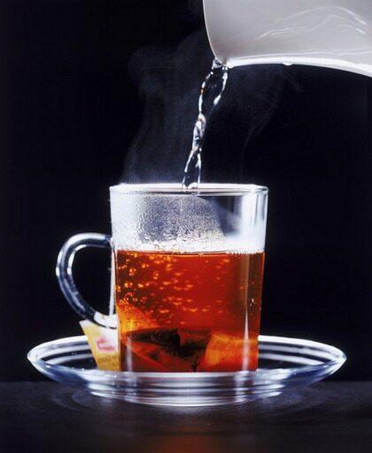 Drick en kopp rogivande te.